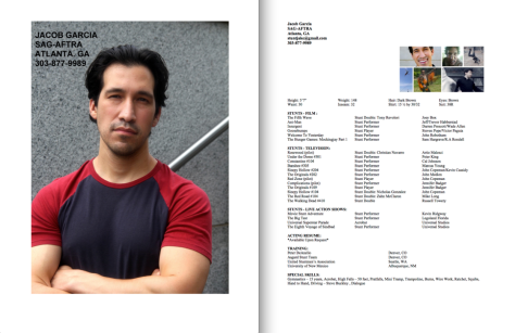 Jacob Garcia headshot and resume