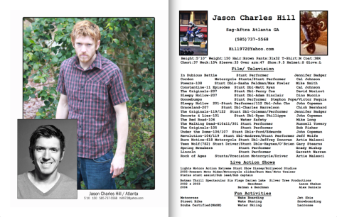 Jason Charles Hill headshot and resume