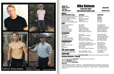Niko Dalman headshot and resume